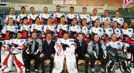 HC Panthers Hav��ov 2002-2003